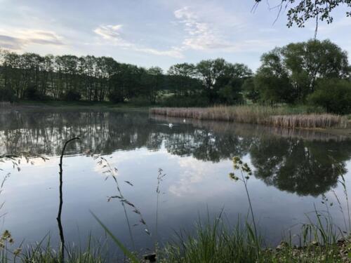 Lhotka rybník Strašák